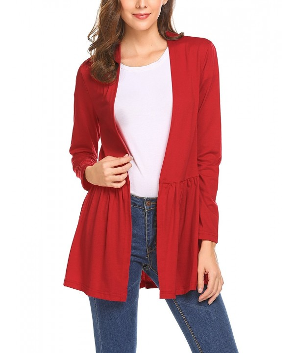 Unibelle Womens Cardigan Sleeves Sweater