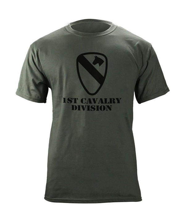 Cavalry Subdued Veteran T Shirt Green