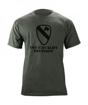 Cavalry Subdued Veteran T Shirt Green