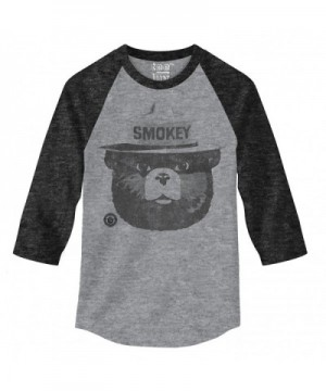 Smokey Design Sleeve Raglan Jersey Large