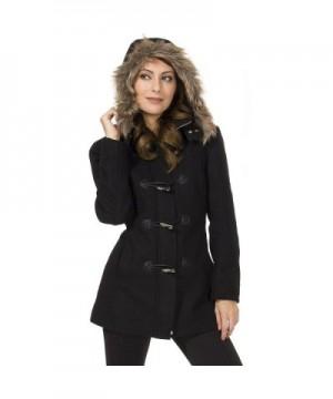 Alpine Swiss Womens Hooded Jacket