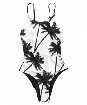 Womens Coconut Floral One piece Swimwear