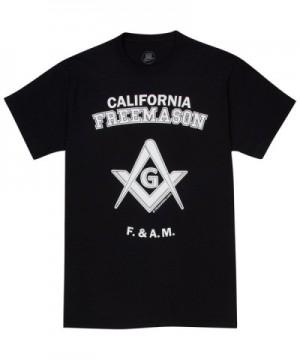 HiramAttire Masonic T Shirt Freemason California