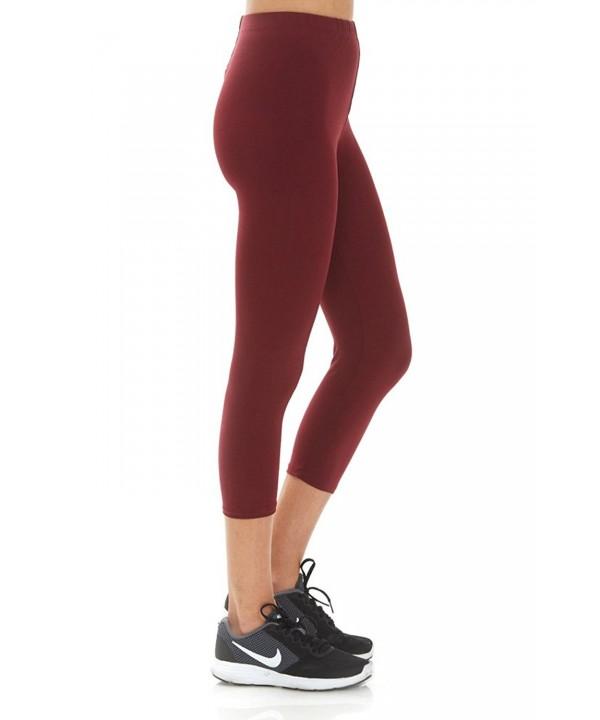 Womens Regular Stretchable Fabric Leggings