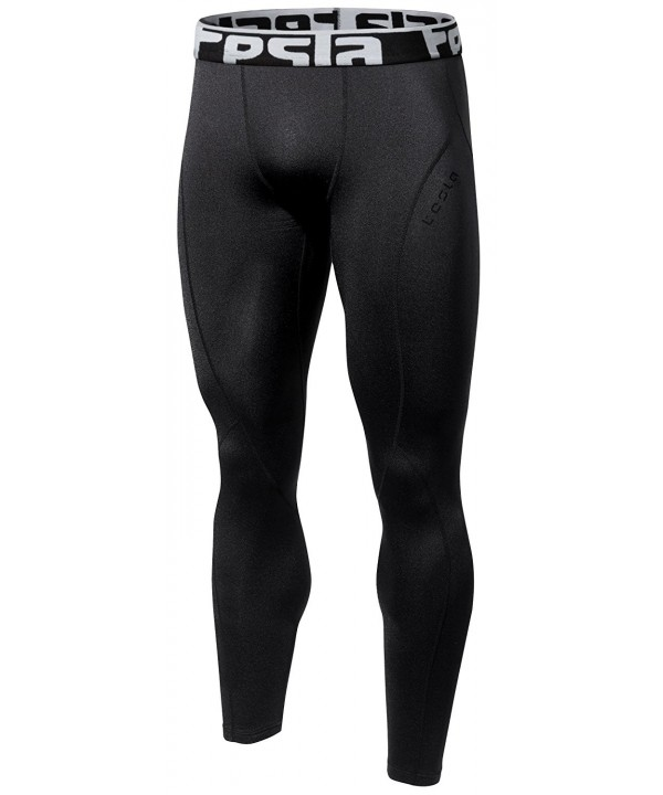 TM YUP33 BLK_Large Tesla Wintergear Compression Baselayer