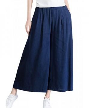 SUGIRLS Womens Loose Elastic Culottes
