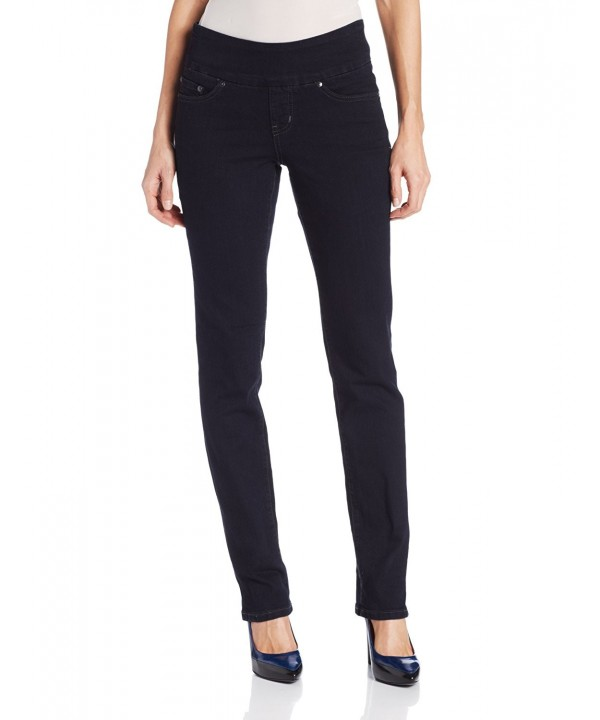 Jag Jeans Womens Straight Midnight