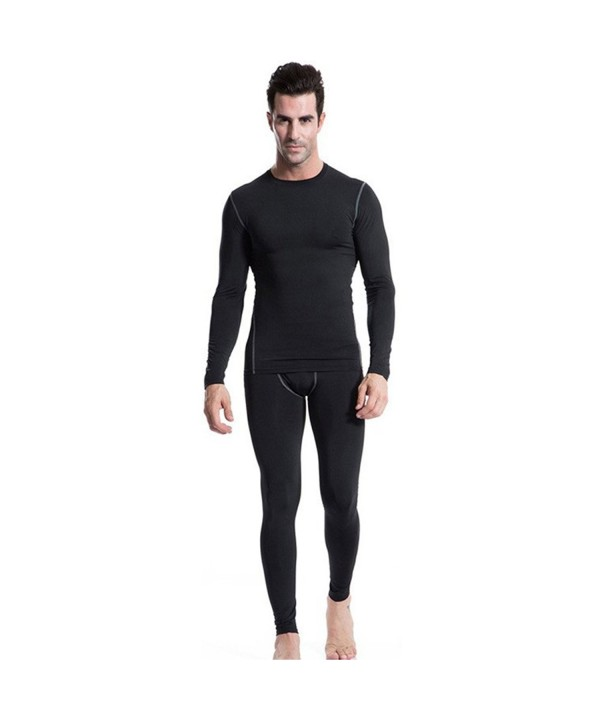 Minghe Thermal Underwear Compression Lightweight
