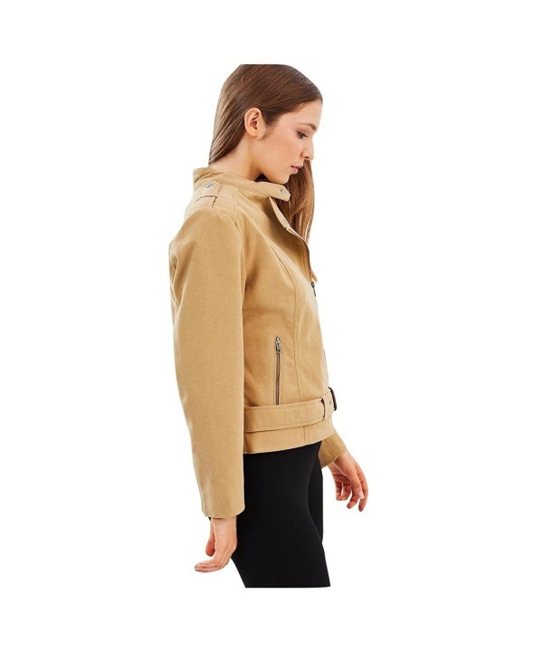 James Co Womens Vegan Jacket
