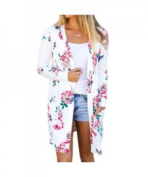 Floral Sleeve Cardigans Coverup Outwear