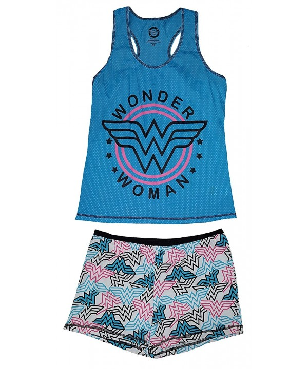 Comics Wonder Woman Shortie Set