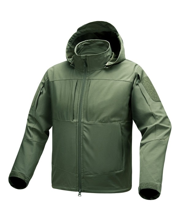 Waterproof Jackets Men Windproof Softshell