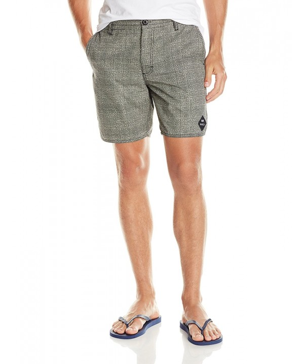 RVCA Balanced Tweed Short Black