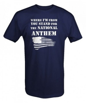 Where Stand National Anthem Football