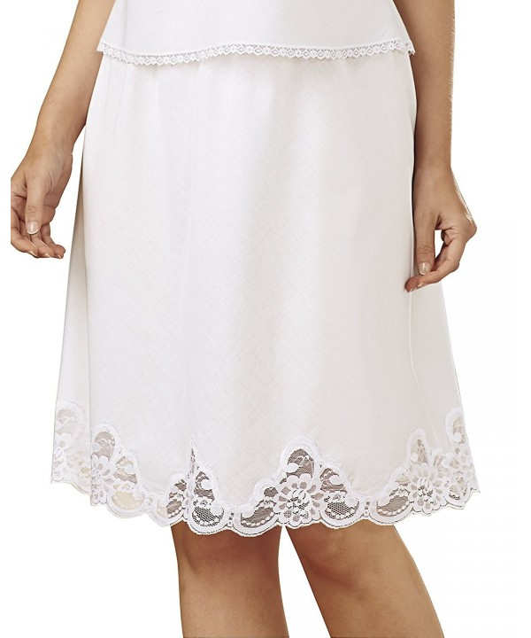 Velrose Cotton Batiste Half White