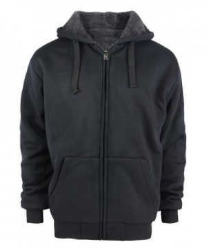ZITY Full Zip Hooded Sweatshirt Black