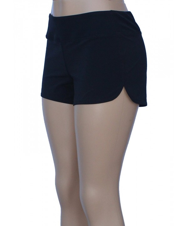 UN92 Womens Nature Shorts Black 2