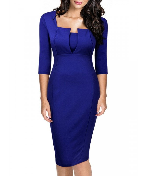 MIUSOL Womens Business Sleeves Bodycon