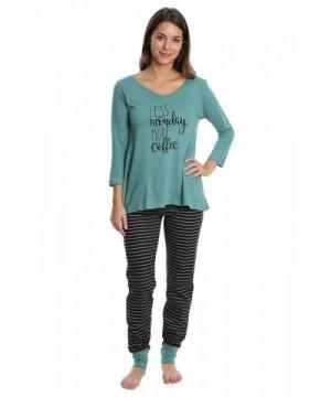 WallFlower Womens Sleepwear Sleeve Jogger