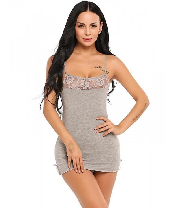 Dozenla Lingerie Camisole Sleepwear Nightwear