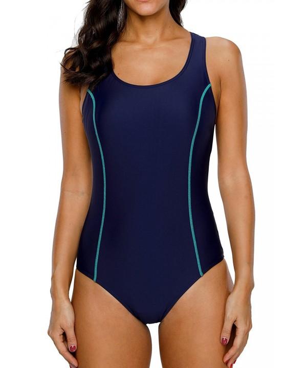 beautyin Swimsuit Racerback Bathing Swimwear