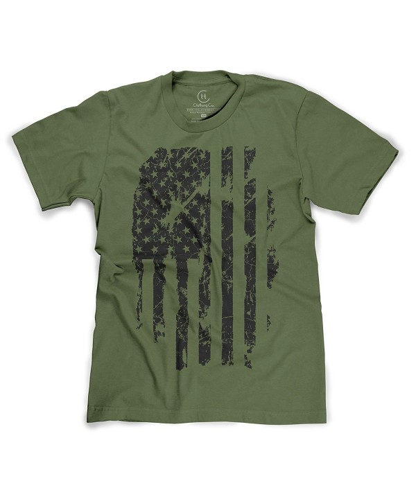 Patriotic American Distressed Pride T Shirt