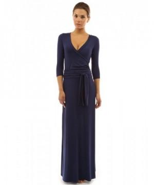 PattyBoutik Womens Sleeve Faux Dress