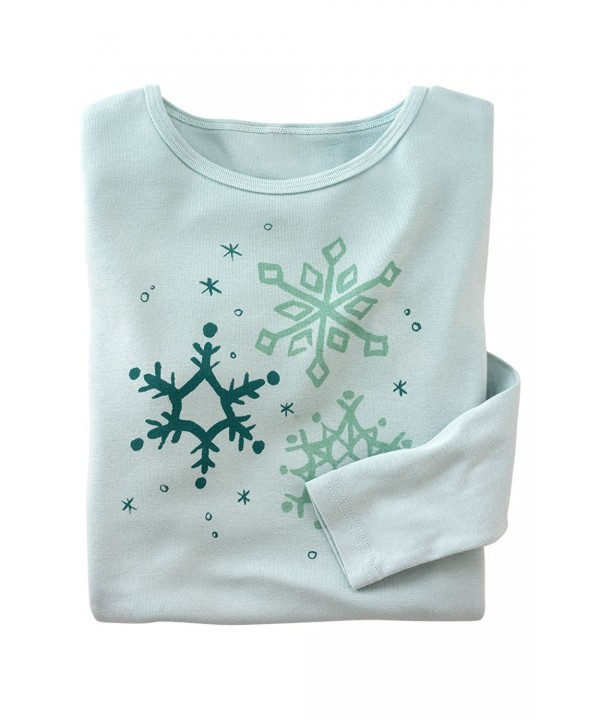 Green Made Organic Snowflake Sketch