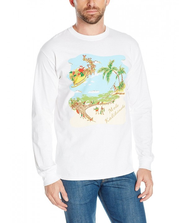 Kahala Luau Long Sleeve T White X Large