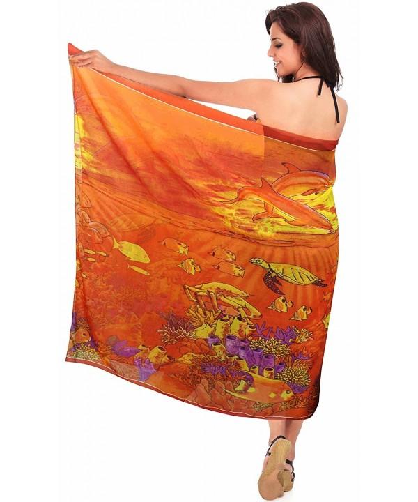 LEELA Hawaiian Sarong swimwear Chiffon