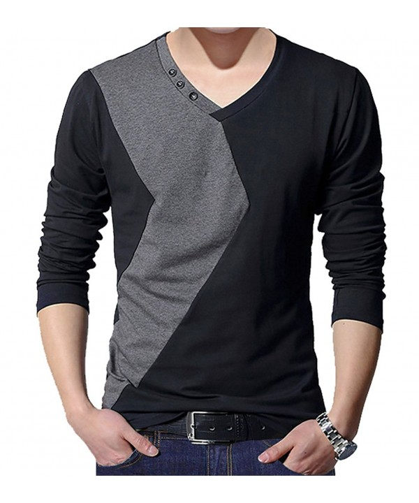 Amoretu Contrast Color Sleeve T Shirt