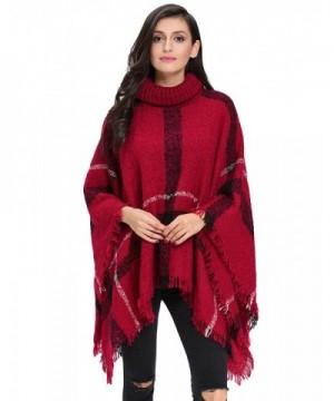 VVEEL Knitted Cashmere Turtleneck Sweater