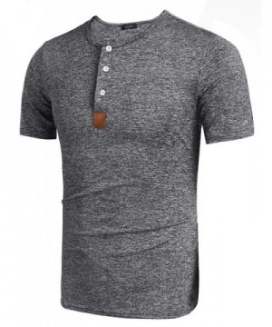 Cheap Designer Men's Henley Shirts Clearance Sale