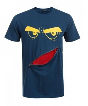COOFANDY Smiley Tshirts Graphic Apparel
