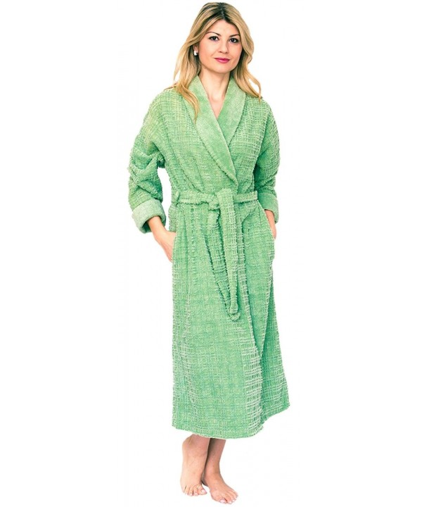Bath Robes Womens Chenille Shawl