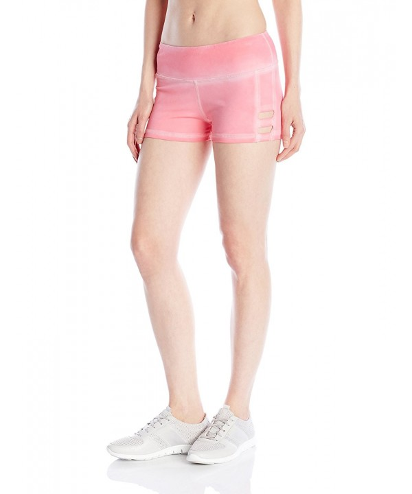 Pink Lotus Womens Washed Banded