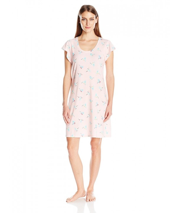 Jockey Womens Flutter Sleepshirt Hummingbirds