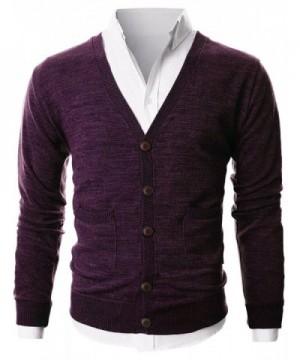 Popular Men's Cardigan Sweaters Wholesale
