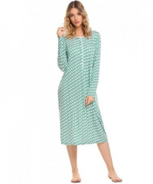 Ekouaer Womens Sleepwear Nightgown X Large
