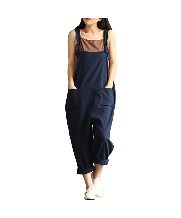 Caing Overalls Sleeveless Rompers Jumpsuit