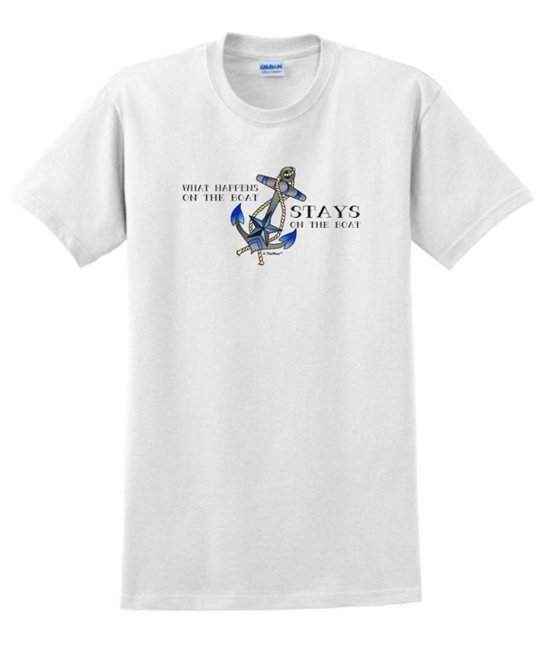What Happens Stays T Shirt White
