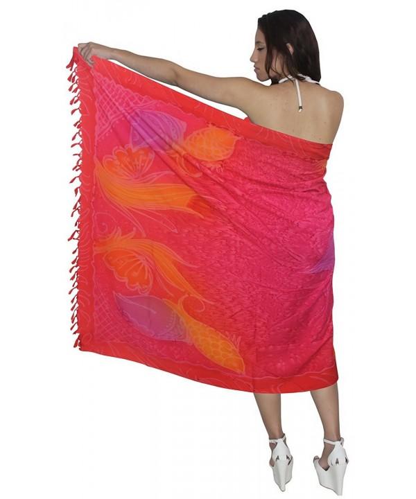 LEELA Printed Hawaiian Bikini Sarong
