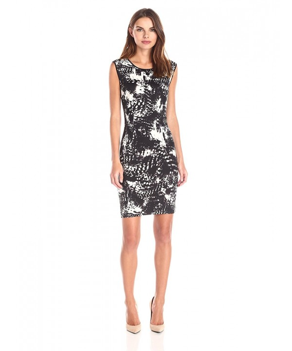Lark Ro Womens Sleeveless Printed