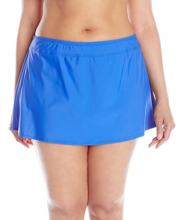 ATHENA Womens Plus Size Banded Skirted