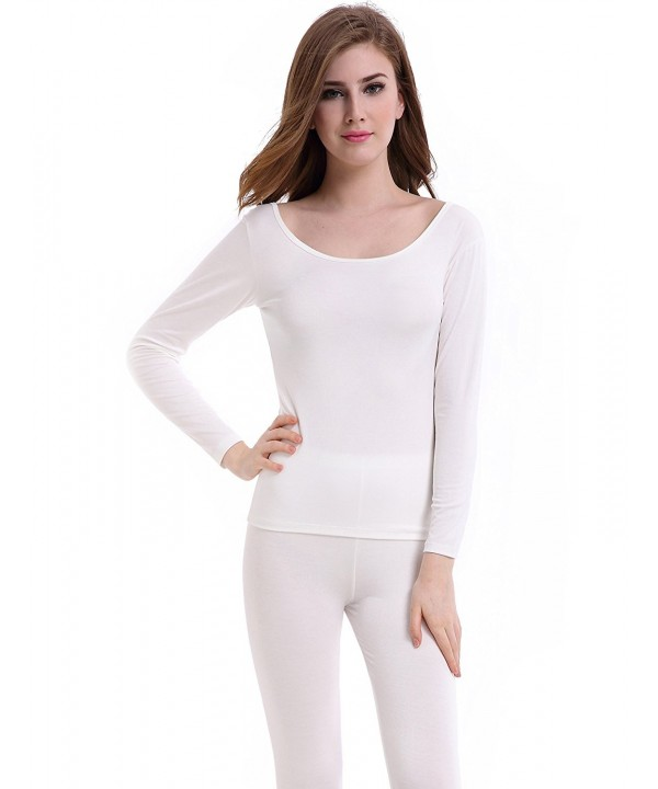 CnlanRow Thermal Underwear Women Long