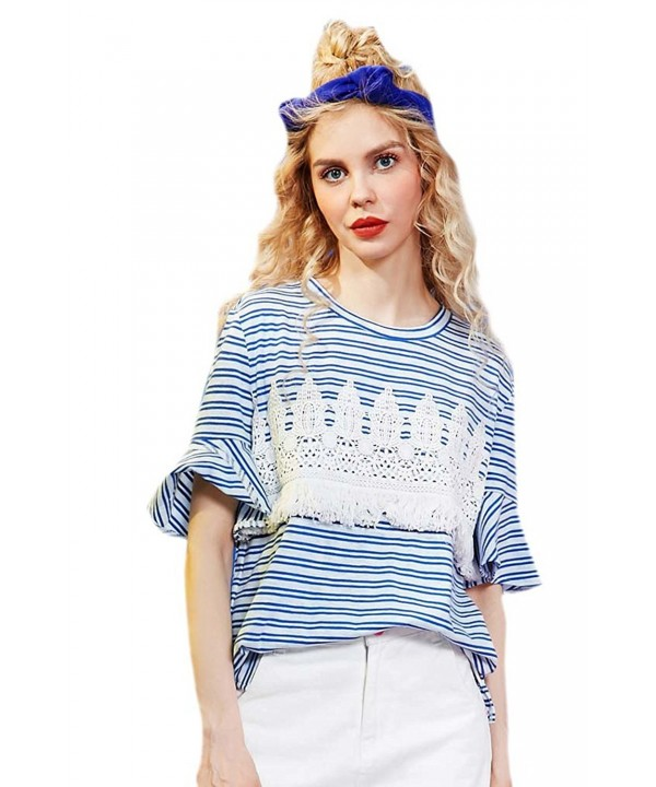 Elf Sack Womans Striped Tshirt