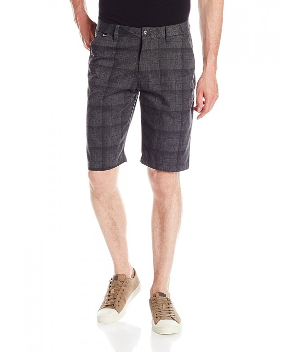 Fox Essex Plaid Charcoal Heather