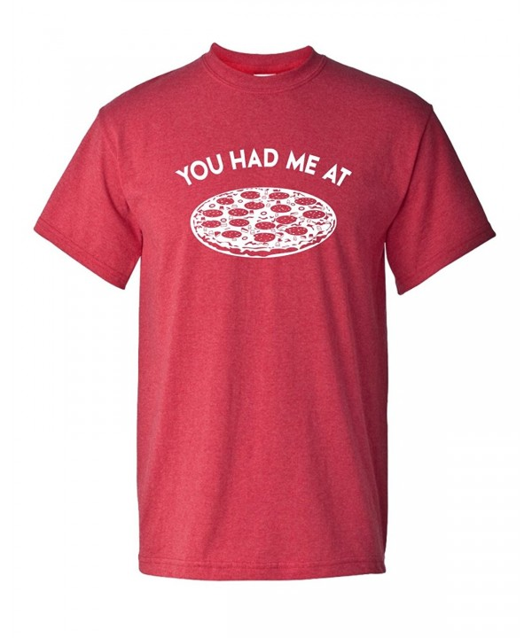 Pizza Unisex Sleeve T Shirt Medium