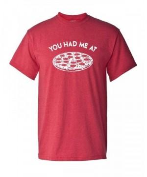 Pizza Unisex Sleeve T Shirt Medium