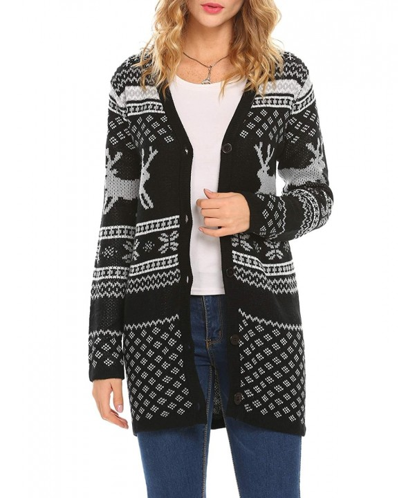 Unibelle Reindeer Sweater Cardigan Chrismas